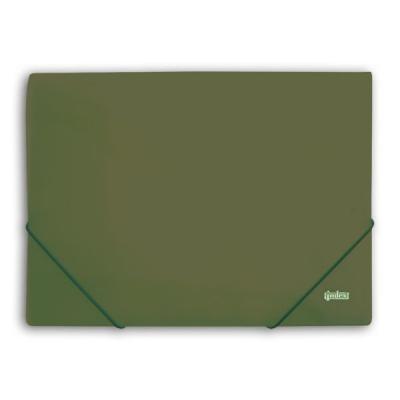 Папка на резинках METALLIC, зеленая IPF311C/GN