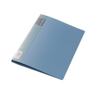 Папка с прижимным механизмом, ф. А4, цвет синий, материал полипропилен, вместимость 120 листов 0410-0014-03 механизм сливной alca plast a08
