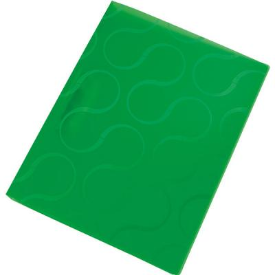 Папка с прижимным механизмом OMEGA, ф. А4, цвет зеленый, материал полипропилен, плотность 450 мкр 0410-0040-04