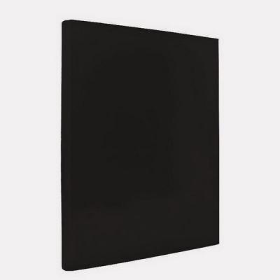 Папка с прижимным механизмом ламинированная, черная IND PR ЧЕР