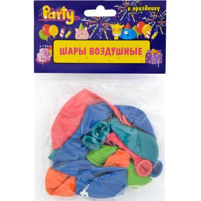 Набор шаров Action! С Днем Рождения! 25 см 10 шт API0067/M