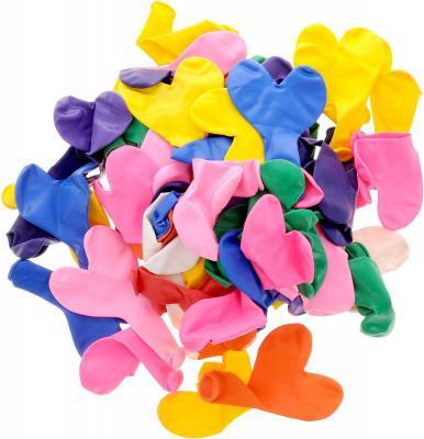 Купить Набор шаров Action! Сердечки 100 шт API0045/M, Атрибуты для праздника