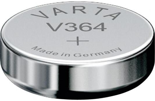 Батарейка Varta SR621SW SR60 V 364 1 шт батарейка varta v 379 sr521sw sr63 1 шт