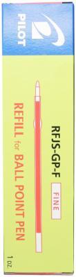 Стержень шариковый автоматическая Pilot RFJS-GP-F-R красный F RFJS-GP-F-R