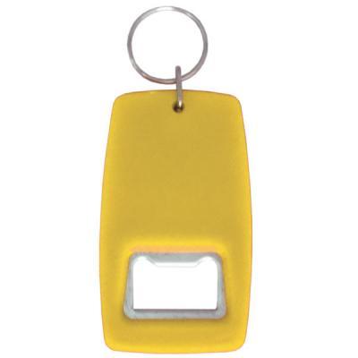Открывашка-брелок, желтый Cob20052/Ж цена