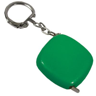 Брелок-рулетка, пластик, зеленый Lbr10472/З брелок рулетка квадратный пластик зеленый