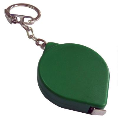 Брелок-рулетка, пластик, зеленый Lbr10475/З брелок рулетка квадратный пластик зеленый