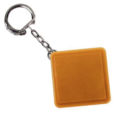 Брелок-рулетка квадратный, пластик, оранжевый Lbr10478/ОР брелок рулетка квадратный пластик зеленый