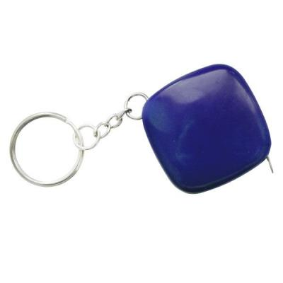 Брелок-рулетка, 2.5*2.5 см, пластик, синий, рулетка-50 см Lbr10472/BU/MINI рулетка брелок biber 40131