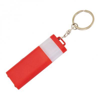 Брелок-фонарик двусторонний, красный корпус, индивид. стикер Lbf1303/RD belstaff полусапоги и высокие ботинки