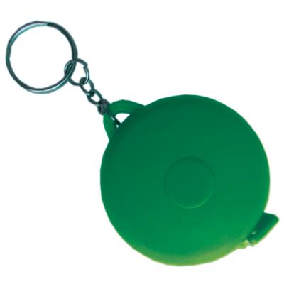 Брелок-рулетка, пластик, зеленый Cbr20116B/З брелок рулетка квадратный пластик зеленый