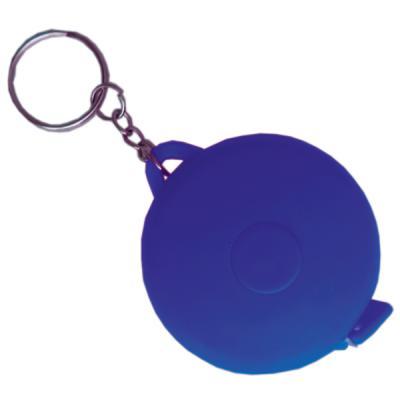 Брелок-рулетка, пластик, синий Cbr20116B/С рулетка пластик синий lrk10489 с