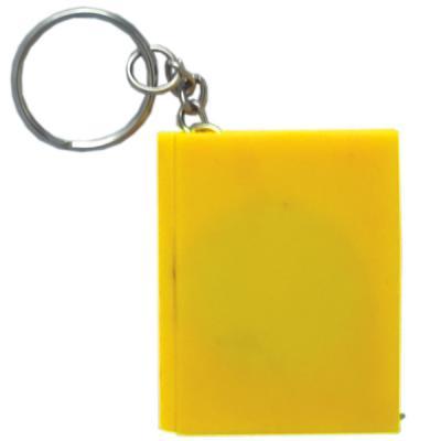 Брелок-рулетка КНИГА, пластик, желтый Cbr20121/Ж рулетка sturm 2010 08 gp 30