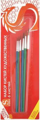 Набор кистей Художественные материалы Степная Лисица 6 шт SB525A/SPEC