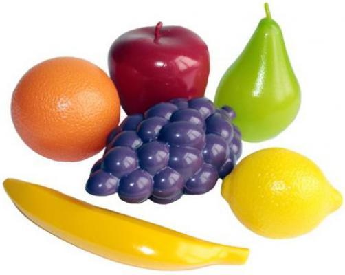 Купить Набор фруктов Совтехстром Фрукты в сетке 24353, разноцветный, Игровые наборы Маленькая хозяйка