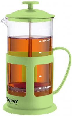 Френч-пресс ENDEVER EcoLife FP-352 зелёный 0.35 л пластик/стекло губка для плит пур актив 2 шт vileda