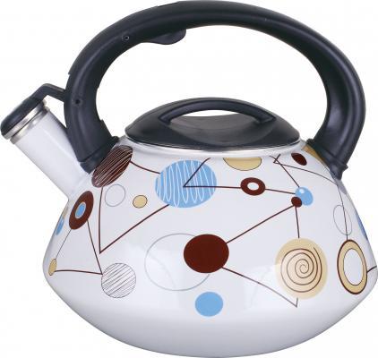 Чайник Winner WR-5111 белый рисунок 2.8 л металл чайник 0 35 л winner чайник 0 35 л