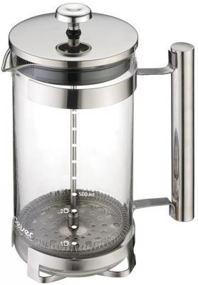 Френч-пресс ENDEVER EcoLife FP-1006S серебристый 1 л металл/стекло