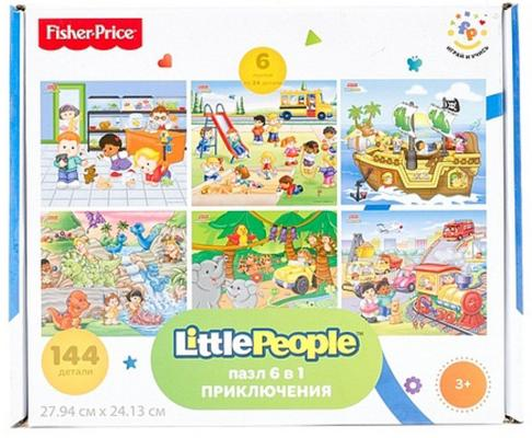 Пазл Fisher Price Приключения 144 элемента FP 37787 theodore gilliland fisher investments on utilities