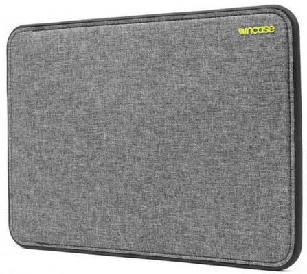 Чехол для ноутбука MacBook Pro 13 Incase Icon неопрен серый черный CL60647 аксессуар чехол macbook pro 13 speck seethru pink spk a2729