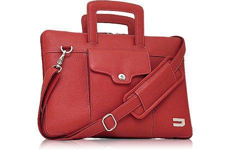 """Чехол для ноутбука MacBook Air 13"""" Urbano Leather Handbag кожа красный UZRBA-04 цена и фото"""
