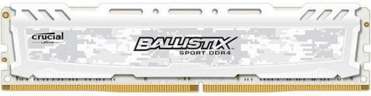 Оперативная память 8Gb (1x8Gb) PC4-19200 2400MHz DDR4 DIMM CL16 Crucial Ballistix Sport LT модуль памяти crucial ballistix sport lt red ddr4 dimm 2666mhz pc4 21300 cl16 8gb bls8g4d26bfse