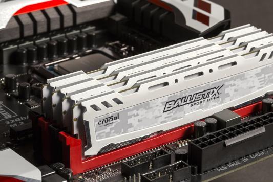 Оперативная память 8Gb (2x4Gb) PC4-19200 2400MHz DDR4 DIMM Crucial BLS2C4G4D240FSC