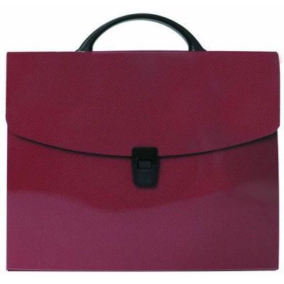 Папка-портфель без отделений, А4, красная IEF15/RD