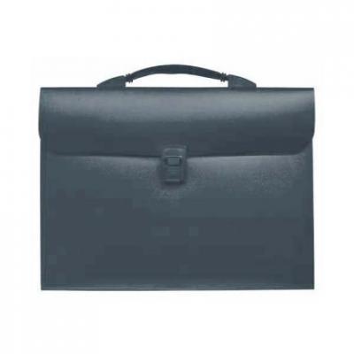 Папка - портфель с эргономичной ручкой на 13 отделений, серый SEF810/GR