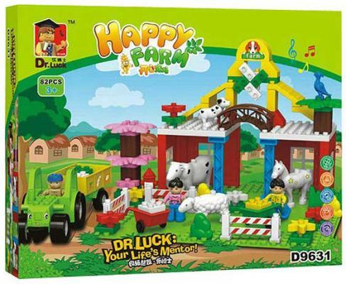 Конструктор Dr.Luck Веселая ферма 88 элементов 1110086