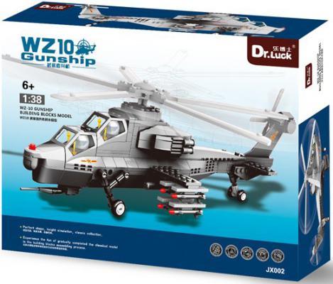 Конструктор Dr.Luck Вертолет WZ-10 304 элемента
