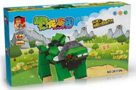 Конструктор Dr.Luck Динозавр 144 элемента