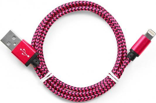Кабель Gembird USB2.0 AM-Lightning 8P фиолетовый 1м CC-ApUSB2pe1m