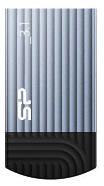 Флешка USB 16Gb Silicon Power Jewel J20 SP016GBUF3J20V1B синий