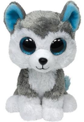 Мягкая игрушка волк TY Волчонок Slush плюш серый 25 см 36902