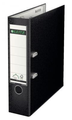 Папка-регистратор LEITZ 180°, 80 мм, полипропилен, черный 10101295 10101295
