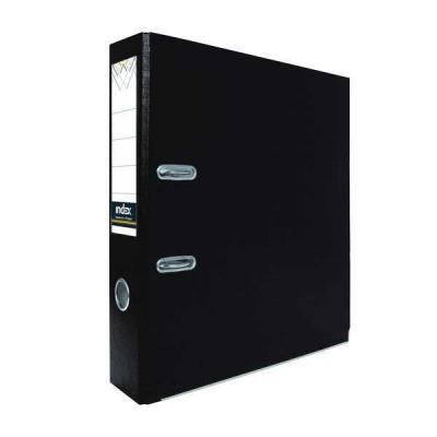 Папка-регистратор с покрытием PVC, 50 мм, А4, черная IND 5/30 PVC ЧЕР jx1105 qfp