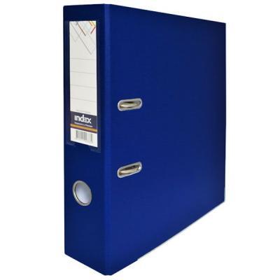 Папка-регистратор с покрытием PVC и металлической окантовкой, 80 мм, А4, темно-синяя IND 8/50 PP NEW DB и и брехман человек и биологически активные вещества