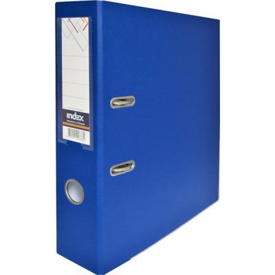 Папка-регистратор с покрытием PVC и металлической окантовкой, 80 мм, А4, синяя IND 8/50 PP NEW BU папка регистратор с покрытием pvc 80 мм а4 синяя ind 8 50 pp bu