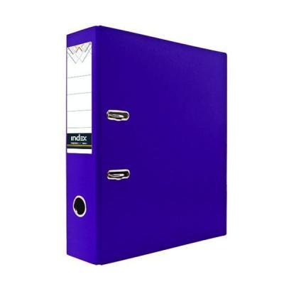 Папка-регистратор с покрытием PVC, 50 мм, А4, фиолетовая IND 5/30 PVC ФИОЛ