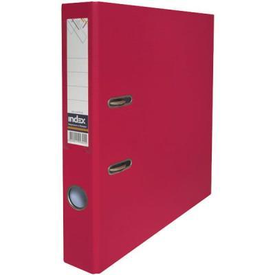 Папка-регистратор с покрытием PVC и металлической окантовкой, 50 мм, А4, бордовая IND 5/50 PP NEW MN папка регистратор 80 мм эконом без покрытия