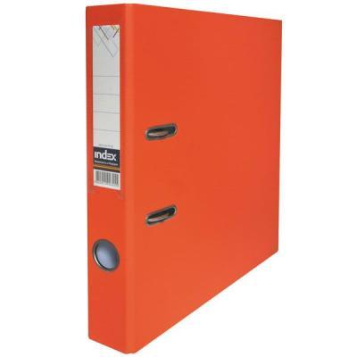 Фото - Папка-регистратор с покрытием PVC, 50 мм, А4, оранжевая IND 5/50 PP OR папка регистратор с покрытием pvc 80 мм а4 оранжевая ind 8 50 pp or
