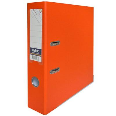 Фото - Папка-регистратор с покрытием PVC, 80 мм, А4, оранжевая IND 8/50 PP OR папка регистратор с покрытием pvc 80 мм а4 оранжевая ind 8 50 pp or
