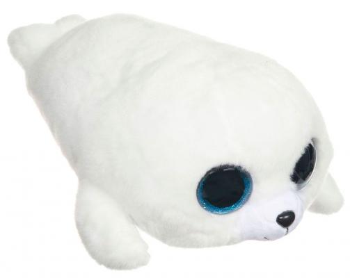 Мягкая игрушка тюлень TY Белый тюлень Icing искусственный мех плюш белый 33 см 0008421370467