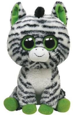 ФОТО Мягкая игрушка зебра ty Зебра zig-zag плюш разноцветный 25 см 36922
