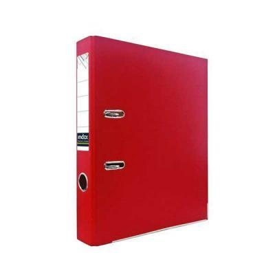 Папка-регистратор из цветного картона, 50 мм, А4, красная IND 5 ECO КР/30 регистратор inформат а4 5 5 см фиолетовый
