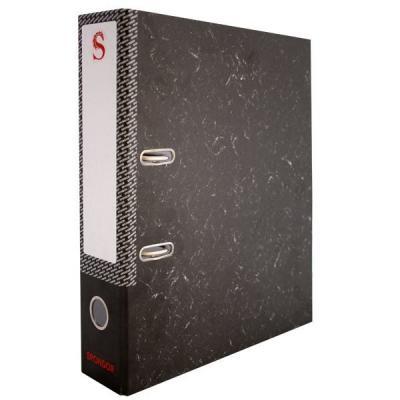 Папка-регистратор 50 мм, черный мрамор SPR 5/30 папка регистратор aro мрамор 50 мм