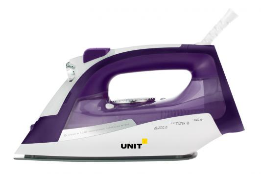 лучшая цена Утюг UNIT USI-284 2200Вт фиолетовый