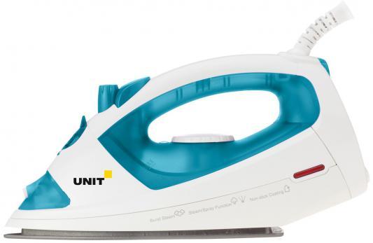 лучшая цена Утюг UNIT USI-191 1400Вт голубой