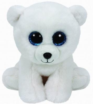 Мягкая игрушка медведь TY Мишка Arctic плюш белый 25 см 90221